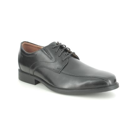 Clarks Smart Shoes - Black leather - 529098H WHIDDON PACE