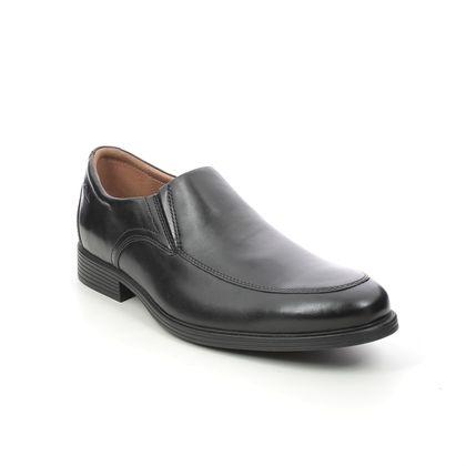 Clarks Slip-on Shoes - Black leather - 529168H WHIDDON STEP