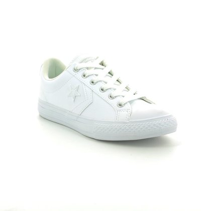 Converse Boys Trainers - White - 651827C/100 Star Player EV OX White