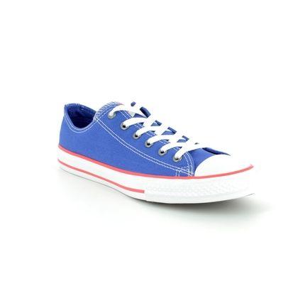 Converse Boys Trainers - Blue - 660104C ALL STAR OX JUNIOR
