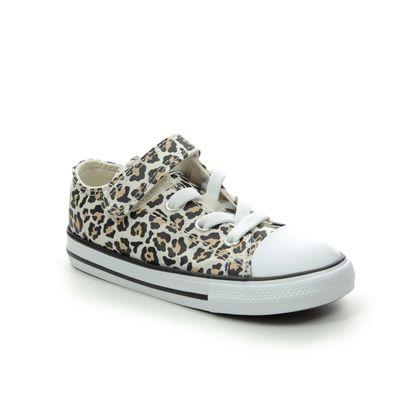 Converse Girls Trainers - Leopard print - 766298C/005 ALLSTAR 1V
