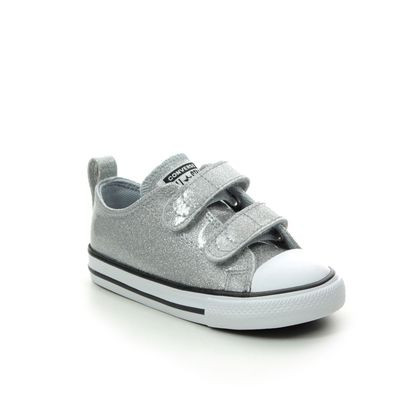 Converse Girls Trainers - Silver - 767184C/007 ALLSTAR 2V