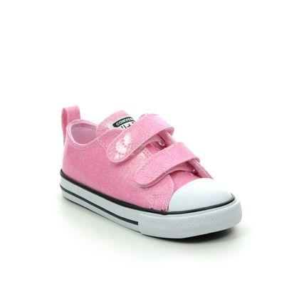 Converse Girls Trainers - Pink multi - 767185C/006 ALLSTAR 2V