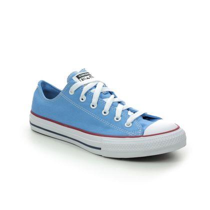 Converse Boys Trainers - Blue - 666819C/001 ALLSTAR OX JNR