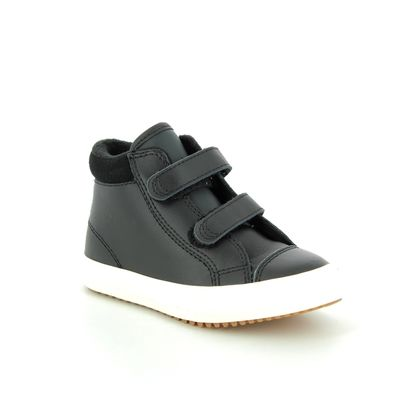 Converse Infant Boys Boots - Black leather - 761981C ALLSTAR PC INF