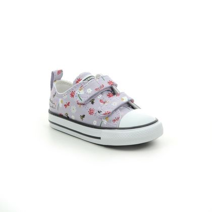 Converse Girls Trainers - Lilac - 771138C BUMBLEBEE 2V