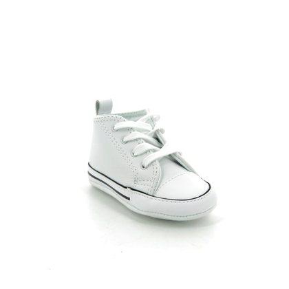 Converse 1st Shoes & Prewalkers - White - 81229C FIRST STAR HI CRIB