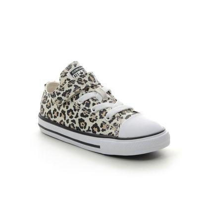 Converse Girls Trainers - Leopard print - 766298C/006 LEOPARD 1V