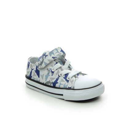 Converse Boys Trainers - Blue - 766892C/010 SHARK 1V
