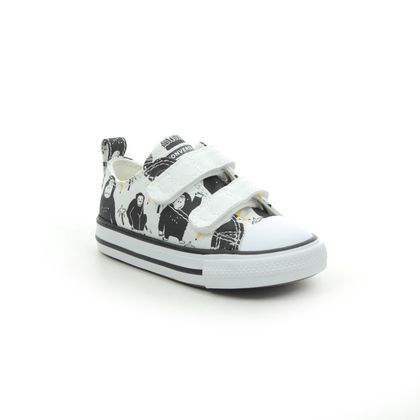 Converse Boys Trainers - White - SLOTH 2V 771129C