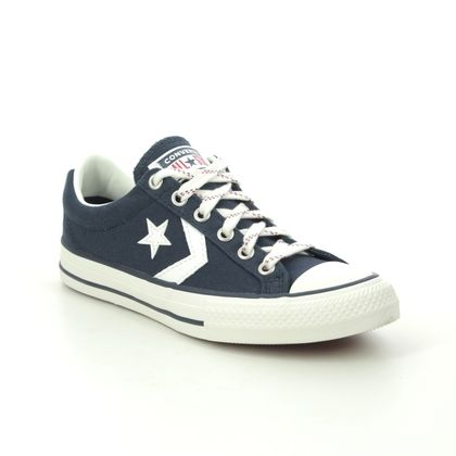 Converse Boys Trainers - Navy - 671110C/002 STAR PLAY JNR