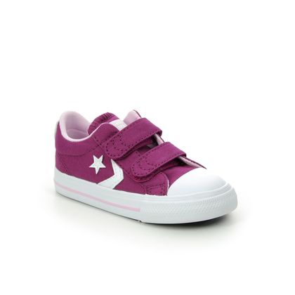 Converse Girls Trainers - Pink - 766955C/008 STAR PLAYER 2V