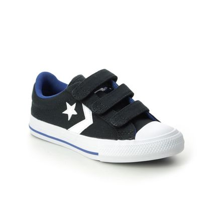 Converse Boys Trainers - Black - 666948C/003 STAR PLAYER 3V