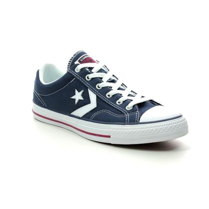 Converse Trainers - Navy - 144150C STAR PLAYER OX