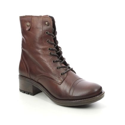 Creator Biker Boots - Brown leather - IB1831/20 CRAVE  LACE