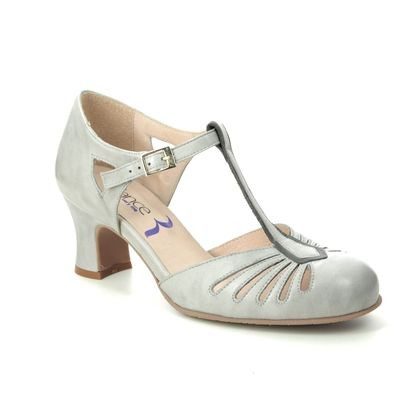 Creator Mary Jane Shoes - Grey leather - 8540/00 JAMILLA