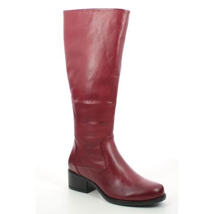 Creator Knee High Boots - Red leather - IB19926/80 JUANOLONG
