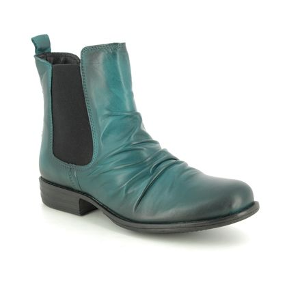 Creator Chelsea Boots - Turquoise Leather - IB 1058/94 MUSKECH