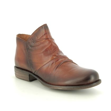Creator Boots - Ankle - Brown leather - IB18387/20 MUSKRO
