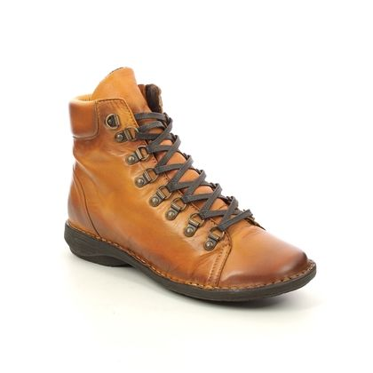 Creator Ankle Boots - Yellow - IB20272/08 NOTELACE