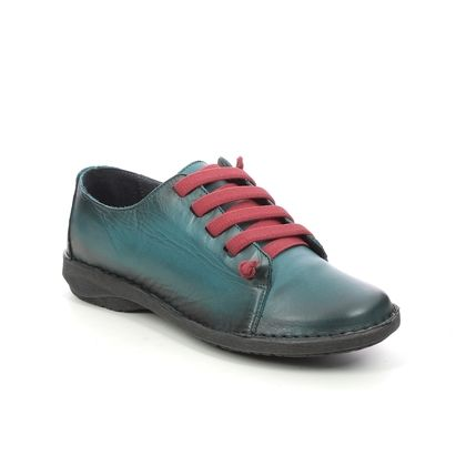 Creator Comfort Lacing Shoes - Turquoise Leather - IB 1047/94 NOTELLA