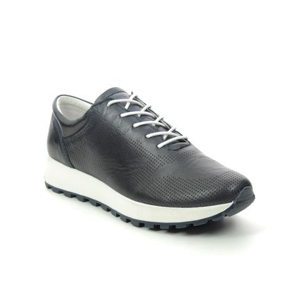Creator Trainers - Navy Leather - 18287A/70 RIOLACE