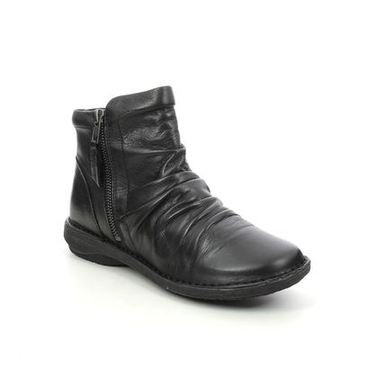 Creator Ankle Boots - Black leather - IB17576/30 SUFFLE