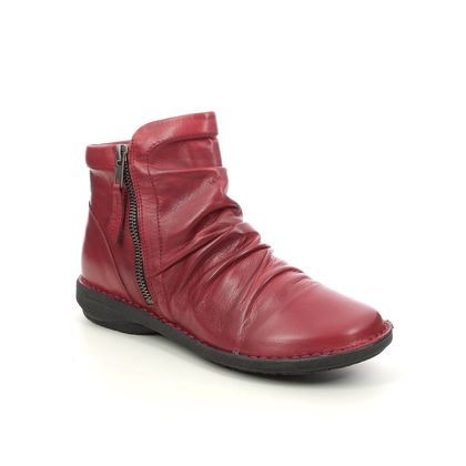Creator Ankle Boots - Red leather - IB17576/80 SUFFLE