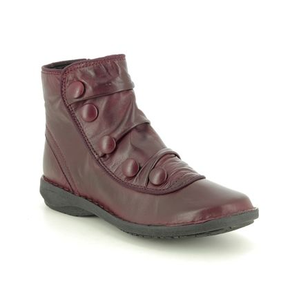 Creator Ankle Boots - Wine leather - IB17935/81 SUFFLEBUT