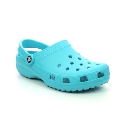 Crocs Closed Toe Sandals - Aqua - 10001/4SL CLASSIC