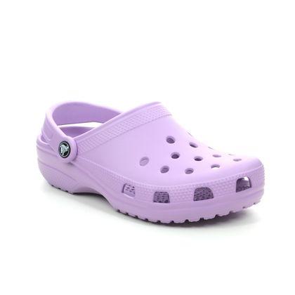 Crocs Closed Toe Sandals - Purple - 10001/5PR CLASSIC