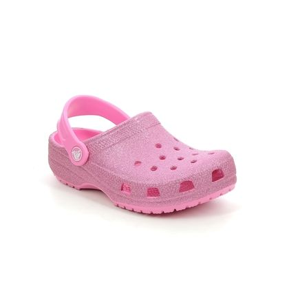 Crocs Girls Sandals - Pink - 205441/669 CLASSIC CLOG K