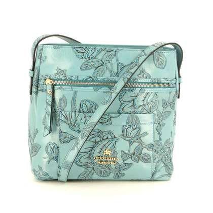 Cuoieria Fiorentina Handbags - Pale blue - B5373/72 MARMO CROSS BOD