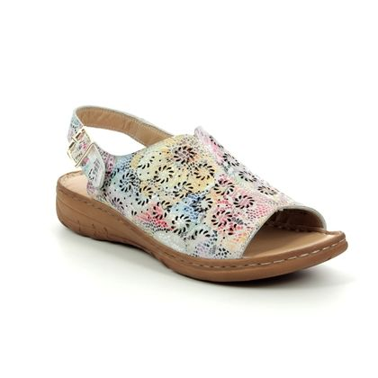 Roselli Comfortable Sandals - Floral print - 201905 DAISY