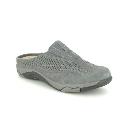 Earth Spirit Slippers & Mules - Grey Suede - 30606/00 ATMORE