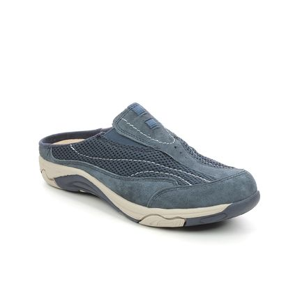 Earth Spirit Slippers - Navy Suede - 30607/70 ATMORE
