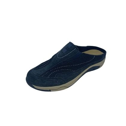 Earth Spirit Slippers & Mules - Navy Suede - 30607/70 ATMORE