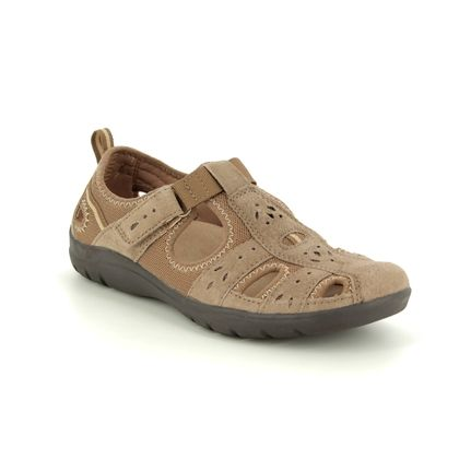 Earth Spirit Closed Toe Sandals - Taupe - 30203/53 CLEVELAND 91