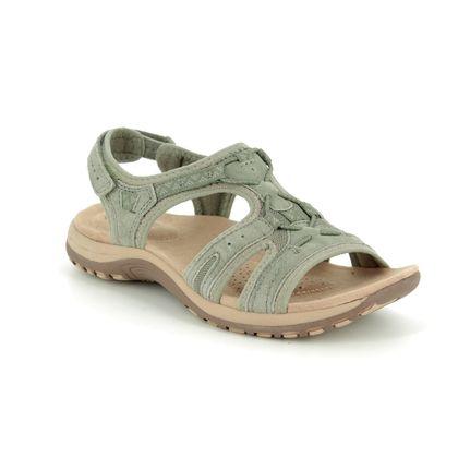 Earth Spirit Walking Sandals - Khaki - 30238/90 FAIRMOUNT