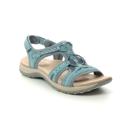 Earth Spirit Walking Sandals - Blue Suede - 30537/72 FAIRMOUNT