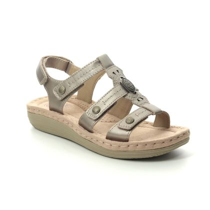 Earth Spirit Comfortable Sandals - Platinum - 30561/26 LYNBROOK