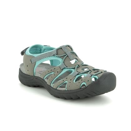 Earth Spirit Closed Toe Sandals - Grey - 30259/00 MIDWAY