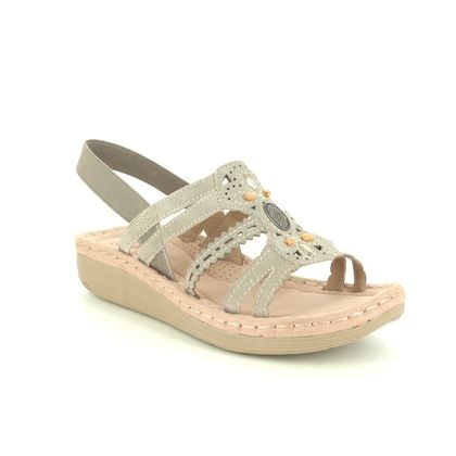 Earth Spirit Comfortable Sandals - Taupe suede - 30556/50 PORTLAND