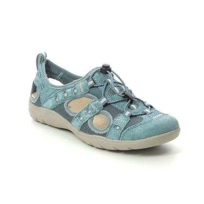 Earth Spirit Closed Toe Sandals - Denim Suede - 30571/72 WINONA