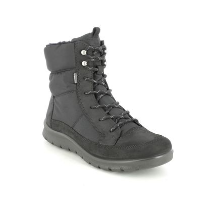 ECCO Ankle Boots - Black nubuck - 215553/51052 BABETT BOOT GORE-TEX 85