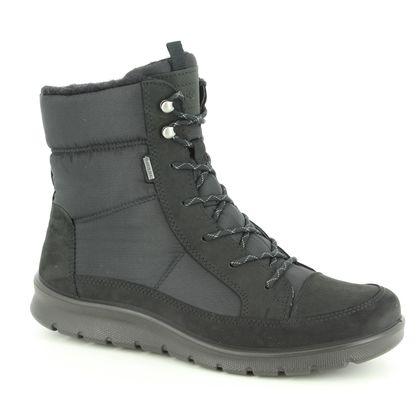 ECCO Boots - Ankle - Black nubuck - 215553/51052 BABETT BOOT GORE-TEX 85