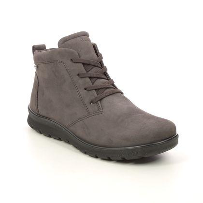 ECCO Lace Up Boots - Brown nubuck - 215583/02576 BABETT LO GTX