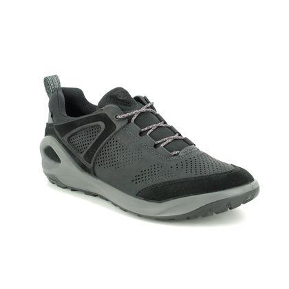 ECCO Casual Shoes - Black Suede - 801904/51052 BIOM 2GO GORE