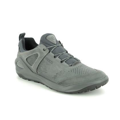 ECCO Casual Shoes - Grey-suede - 801904/52664 BIOM 2GO GORE