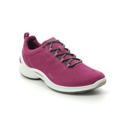 ECCO Walking Shoes - Fuchsia Leather - 837533/01422 BIOM FJUEL W